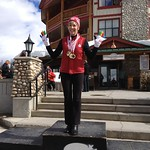 Joy Fera of Tsawwassen, BC & WMSC, at Kimberley BC [where she learned to ski in 1958!] March 2014, Canadian Masters Alpine Championships