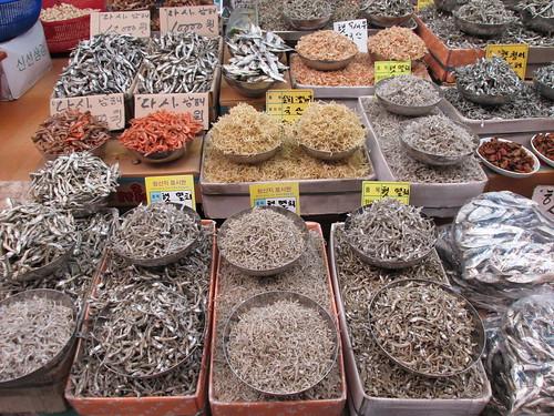 Jagalchi Market, Busan, Corée du Sud