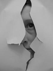046.365 - 15.02.15 (oana-emilia) Tags: bw white selfportrait black eye see blackwhite flickr hide torn sight tear minimalism day46 selfie shuttersisters womenwho♥photography shuttersister day46365 shuttersister365 365the2015edition 3652015 15feb15