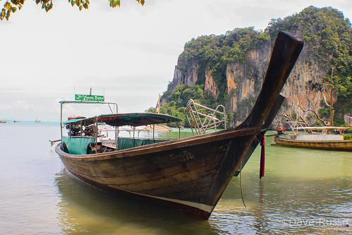 travel thailand boat krabi railay