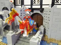 Dalborg Castle (Etzel87) Tags: castle classic lego lion knights fachwerk neoclassic moc