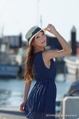 DSC00479 (SU QING YUAN) Tags: girl beauty bokeh sony taiwan 桃園 a55 竹圍漁港 135za