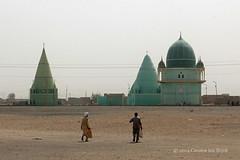 Mosque landscape (10b travelling) Tags: africa green sahara architecture landscape northafrica islam sudan mosque nile khartoum masjid 2013 carstentenbrink iptcbasic