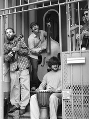 Haight Street, SF (Courtney Thompson) Tags: california street people music white black photography san francisco live sony band stairwell haight