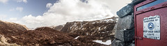 Shelter (TheWildFireOne) Tags: sky panorama snow mountains scotland highlands doll angus glen hills shelter munro 500px
