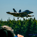 As A @BoeingDefense EA-18G Banks at OLF...