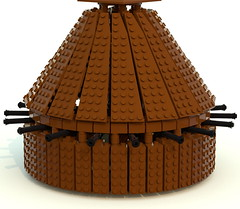 tank (ravescat) Tags: wheel hammer tank lego da historical leonardo vinci weapons moc