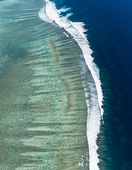 Ningaloo Reef || Western Australia (David Marriott - Sydney) Tags: world park sea west heritage water work bay turquoise air aerial national cape reef nor range ningaloo