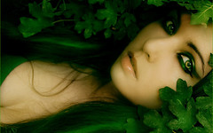 Pretty Green Eyes Girl HD Wallpaper (StylishHDwallpapers) Tags: eye girl beautiful women pretty gorgeous greeneyes greenleafs