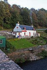 Fiddichside Inn by the River Fiddich in Scotland (travelmag.com) Tags: river scotland whisky scotch spey speyside fiddich dufftown fiddichsideinn