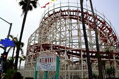 giant dipper @ belmont park (erinwolf1997) Tags: sandiego giantdipper rollercoaster coaster ride thrill amusement amusementpark belmont beach attraction sign themepark historical