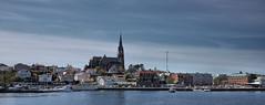 Arriving in Lysekil at the WestCoast of Sweden (JRJ.) Tags: sea summer seascape landscape village sweden outdoor fjord bathing westcoast