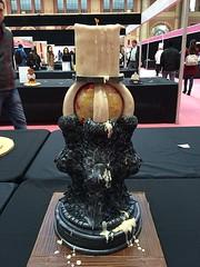 (rolipayne) Tags: cake gold candle dragon winner got recent candlestick cakeinternational