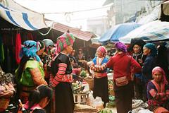 Ch Sn H (Long Kurt) Tags: life women market vietnam dao hmong laichau walz sinho tudorcolor xlx200 envoy35 longkurt