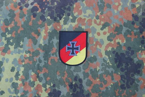 Wappen Reservistenverband auf Flecktarn