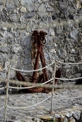 Camogli (11) (Pier Romano) Tags: old italy nikon riviera italia liguria camogli anchors ancora ligure levante ancore vecche d5100