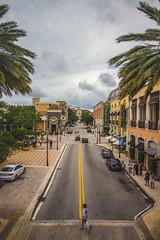 Before Rain   West Palm Beach (rmehdee) Tags: street sky cloud lines rain canon downtown florida streetphotography westpalmbeach palmbeach darksky cityplace latespring palmbeachcounty beforerain