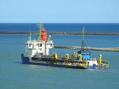 UKD-Marlin-F-20-May-2016 (Steve Ellwood Whitley Bay) Tags: imo ellwood dredger northshields northeastengland portoftyne ukdmarlin steveellwood westernquay humbermarlin callsignmsbk2 mmsinumber232001610
