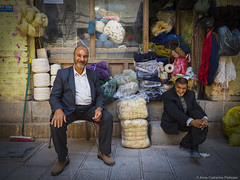Bazar brothers in Kerman, Iran (Helvetic Wanderlust) Tags: travel iran persia olympus bazar kerman omd em5