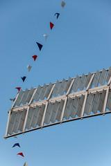 Holgate Windmill decorated, June 2016 - 2
