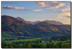 View from the Patio of our Holiday Home (Fraggle Red) Tags: sunset austria evening sterreich view eben obersterreich hdr upperaustria traunsee canonef24105mmf4lisusm 7exp dphdr canoneos5dmarkiii 5d3 5diii adobephotoshopcc adobelightroomcc