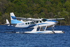 G-LAUD-LochLomond140516 (MarkP51) Tags: plane airplane scotland nikon image aircraft aviation lochlomond seaplane cessna cameronhouse floatplane 208f d7100 lochlomondseaplanes glaud markp51