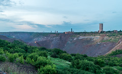 General view of quarry (fin4shark) Tags: urban landscapes industrial ukraine ore easteurope quarry krivoyrog