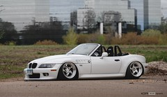 Awesome BMW Z3 with Status Seats and Polished CCW Wheels (vividracing) Tags: wheels convertible bmw z3 polished roadster status ccw fitment d59 racingseats
