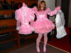 Here's your choice, dear, pink or white. (jensatin4242) Tags: sissy transvestite satin crossdresser petticoat frilly jensatin