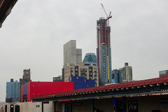 they're filling in the sky (nicknormal) Tags: newyork skyline hotel us unitedstates crane clocktower longislandcity citi hotelification linclic