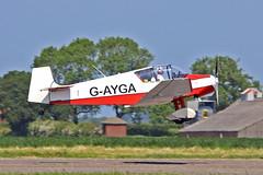 G-AYGA Jodel D.11 J W Bowes Sturgate Fly In 05-06-16 (PlanecrazyUK) Tags: sturgate egcs fly in 050616 lincoln aero club ltd gayga jodeld11 jwbowes fly in