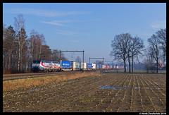 ERS 189 212, Notter 06-03-2016 (Henk Zwoferink) Tags: by nederland siemens rail wyoming genesee overijssel henk linked 212 189 ers freightliner wierden mrce es64f4 zwoferink