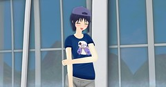 tomboi-chan (D A R E M O) Tags: anime manga secondlife kawaii sans asr philosophia undertale