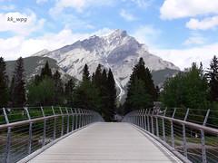 Banff, Alberta, Canada  (I) (kk_wpg) Tags: road travel sky canada mountains nature highway hiking may alberta banff banffnationalpark 2016 kkwpg
