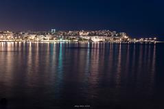 Rhythm of the Night (oskaybatur) Tags: longexposure reflection june night turkey landscape trkiye summernight 2016 saxe turkei silivri sigma1770 justpentax pentaxart pentaxkr oskaybatur