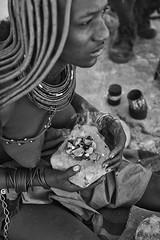 Fragrance (alisdair jones) Tags: africa leica woman perfume smoke nomad tribe namibia fragrance himba m240 summiluxm11450asph