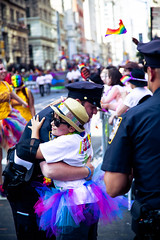 Cop Hug, Pride Parade, NYC 2016 (Fusco Industries) Tags: street new york city nyc newyorkcity gay woman never men lesbian mom freedom march kid inn hug dad father christopher free nypd son pride parade ave cop stonewall hugs gaypride trans 5th forget lbgt lbgtq