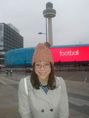 football (Jackie Jones cd) Tags: hat liverpool tv jackie tgirl transgender crossdresser ts jackiejones transwoman