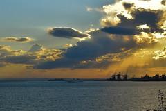 DSC_0112 (enricapiccione) Tags: sunset sea clouds nikon tramonto nuvole lungomare luce taranto nikonitalia d7200