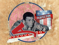 Ali (Fierceham) Tags: blue red white collage america circle stars stripes rip champion ali clay boxing perfection muhammad cassius cutnpaste cutandpaste a coolcapitals