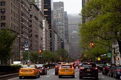 new york (dorinser) Tags: new york newyork foggy yellowcab uppereastside metlifebuilding 63thstreet