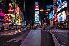 Times Square (Brandon Godfrey) Tags: newyorkcity newyork nyc timessquare midtownmanhattan manhattan thebigapple night billboards ads neon neons usa unitedstatesofamerica unitedstates city urban cityscape buildings lights broadway ny