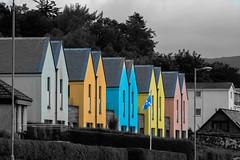 Dunoon (Alec-Gibson) Tags: houses scotland dunoon selectivecolour