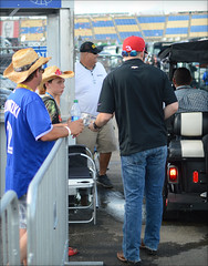 NASCAR Quaker State 400 - Kentucky Speedway - 7/9/2016 (rbatina) Tags: rubbertoe nascar sprint cup race austin dillon kentucky speedway ky track sparta day stock car racing outside outdoors july 9 9th 2016 792016 quaker state 400 auto racecar series pit road garage access pass hot summer driver appearance hauler rv bus area parking candid golf cart kart sidebyside sbs vehicle personal transportation
