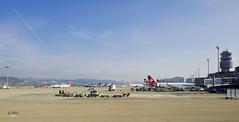 More Swiss jets (A. Wee) Tags: switzerland airport swiss zurich  swissair zrh
