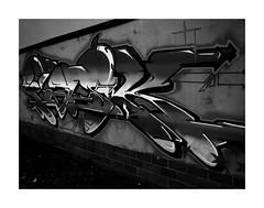 Graffiti (One-Basic-Of-Art) Tags: sprayen graffiti sw schwarzundweis blackandwhite noiretblanc
