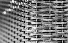 Corner of Wicker Table in Sunlight (kimedwards1123) Tags: abstract 2016 photochallenge
