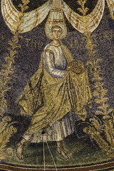 St Thomas the Apostle (Lawrence OP) Tags: thomas mosaic saints apostles ravenna baptistery