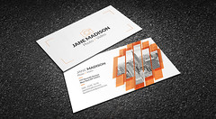 Cool Abstract Photographer Business Card Template (Meng Loong) Tags: abstract black modern photography photographer creative professional psd businesscard videographer videography