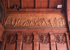 Events in the Life of John Wesley (.annajane) Tags: uk england sculpture hall birmingham terracotta central relief methodist westmidlands methodistcentralhall gibbsandcanning